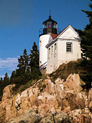Edward Fielding - Bass Harbor Light Acadia National Park...
