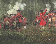 Randy Steele - Battle of Bushy Run Pennsylvania Firing...