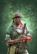 Randy Steele - Battle of Bushy Run Warrior Scout...