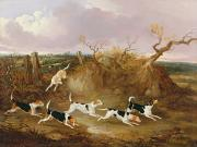 John Dalby - Beagles in Full Cry