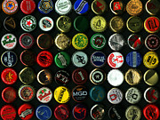 Wingsdomain Art and Photography - Beer Bottle Caps . 9 to 12 Proportion