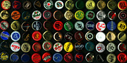 Wingsdomain Art and Photography - Beer Bottle Caps . 2 to 1 Proportion