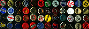 Wingsdomain Art and Photography - Beer Bottle Caps . 3 to 1 Proportion