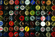 Wingsdomain Art and Photography - Beer Bottle Caps . 8 to 12 Proportion
