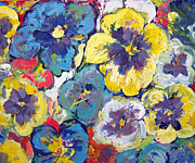 Patricia Taylor - Bellagio Pansies