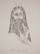 Spiritual Energy Art Drawings - Benedictus by Bruce Zboray
