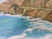 Bixby Bridge Originals - Big Sur bridge by Sunanda Chatterjee