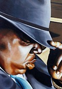 Biggie Art - Biggie by T Fischler