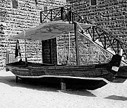 Chris Smith - Black and White Al Abra Transport Boat...