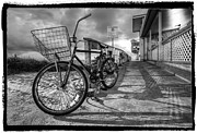 Debra and Dave Vanderlaan - Black and White Beach Bike