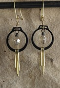 Daytime Jewelry - Black n Gold by Jan  Brieger-Scranton