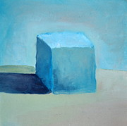 Michelle Calkins - Blue Cube Still Life