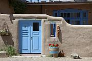Jerry McElroy - Blue Door in Taos