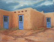 Jerry McElroy - Blue Doors in Taos