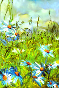 Anne Weirich - Blue marguerites