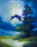 Van Gogh Originals - Bonzai II by James Christopher Hill