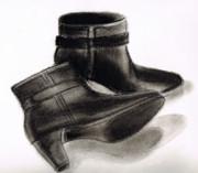 Life Drawings - Boots by Zara GDezfuli