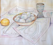 Linen Room Prints - Bowl Print by Carole Joyce