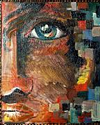 Patty Meotti - Boy With Blue Eye And Colors Cube