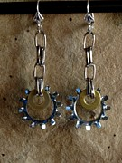 Daytime Jewelry - Brass n Chrome by Jan  Brieger-Scranton