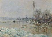 Claude Monet - Breakup of Ice