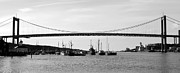 Bridge And Boats Print by Smallfort Photography Collection