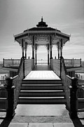 Infer Prints - Brighton Bandstand - Infrared Print by Steven Cragg