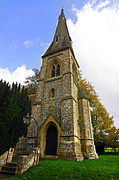 Simon Bratt Photography - British church tower in an English...