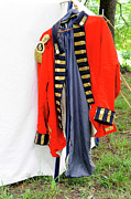Redcoat Art - British Offecers Uniform by Ben De Marco