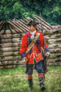 Randy Steele - British Officer at Fort Ligonier 1758
