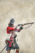 Randy Steele - British Soldier Firing Musket
