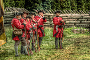 Randy Steele - British Soldiers at Fort Ligonier