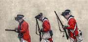 Randy Steele - British Soldiers Reloading Muskets