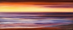 Panoramic View Sunsets - Brushed 2 by Gina De Gorna