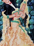 Ballroom Posters - Bubbles Poster by Paint The Floor