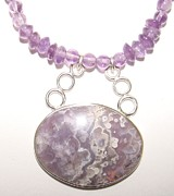 Hand Made Jewelry - Bubbles Pendant by Beverly Fox