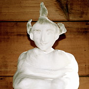 Surrealism Sculpture Originals - Buddha Woman by Kathryn New Gallo