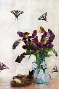 Spangled Posters - Butterfly Haven Poster by Stephanie Frey