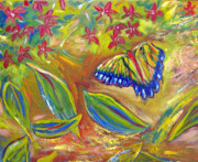 Patricia Taylor - Butterfly in the Garden