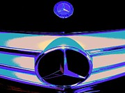 2009 Digital Art Prints - C300-CRC2012-Benz-PSY-105 Print by Chuck Re