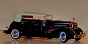 Cadillac Digital Art Originals - Cadillac Fleetwood 1933 by Garry Staranchuk