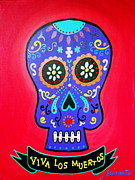 Pristine Cartera Turkus - Calavera Day Of The Dead
