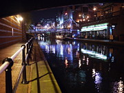 Broad Street Originals - Canal at Night by John Chatterley