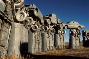 Jerry McElroy - Carhenge in the Afternoon