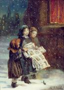 Augustus Edward Mulready - Carols for Sale