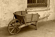 Suzanne Gaff - Cart for Sale in sepia