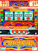 Wingsdomain Art and Photography - Casino Slot Machine . One Arm Bandit ....