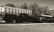 Steve Harrington - Cass Railway WV sepia