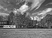 Steve Harrington - Cass Scenic Railroad monochrome