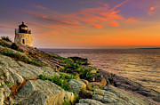 Thomas Schoeller - Castle Hill Lighthouse - Newport Rhode...